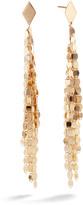 Lana 14k Gold Short Fringe Dangle Earrings