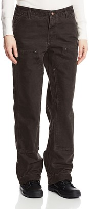 Carhartt Women's Tall Relaxed Fit Sandstone Kane Dungaree Pant