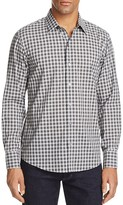 Zachary Prell Kotsubo Plaid Regular Fit Button-Down Shirt