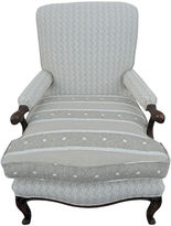 One Kings Lane Vintage Bundi/Jaipur Stripe Vintage Armchair