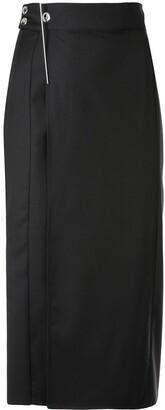 Boyarovskaya Pen-Embellished Pencil Skirt