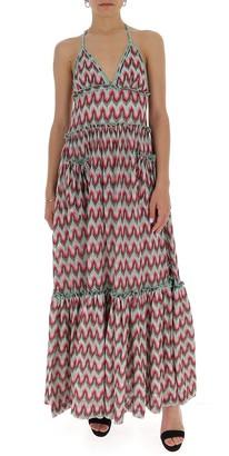 Missoni V-Neck Maxi Dress