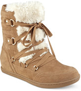 G by Guess Ryla Faux-Fur-Trim Booties