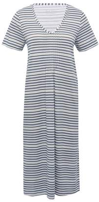 M&Co Blue stripe nightdress