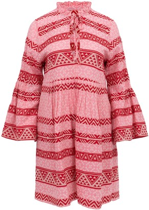 Devotion Elena Pink Short Dress - S
