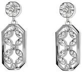 Louise et Cie Crisscross Petal Drop Earrings