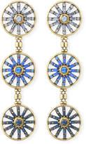 Auden Orlando 3-Drop Earrings