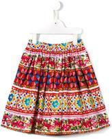 Dolce & Gabbana Mambo print skirt