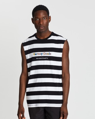 Barney Cools Embroidered Muscle Tee