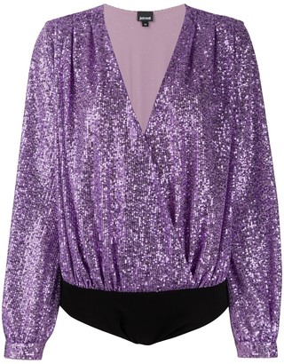 Just Cavalli Sequin Embellished Body