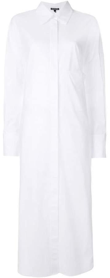 Ann Demeulemeester long-length shirt dress