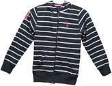 U.S. Polo Assn. Girls Striped Hoodie