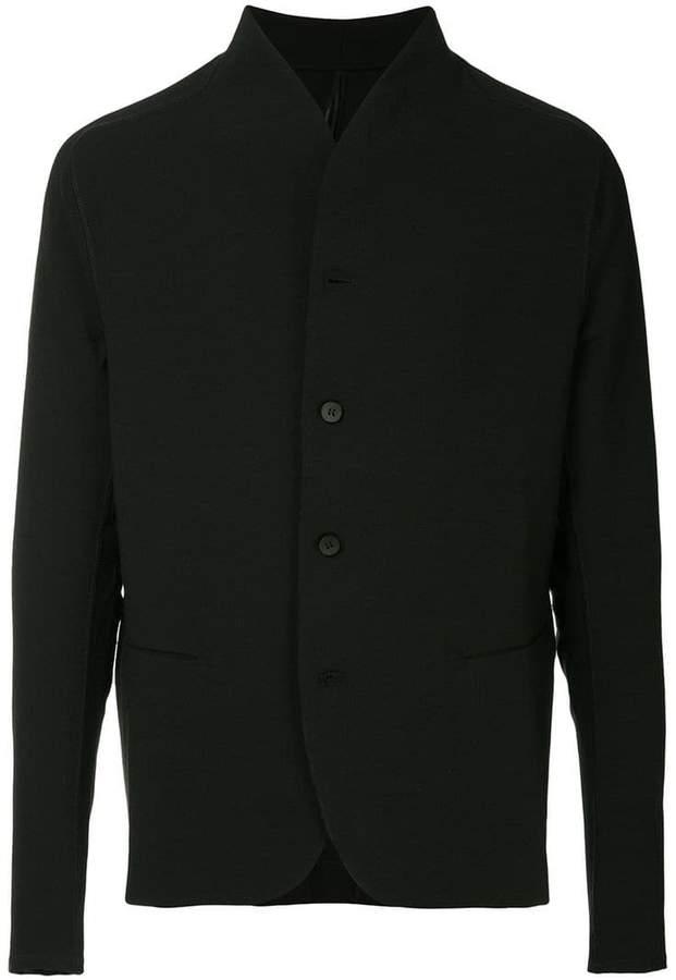 Masnada raw trim jacket