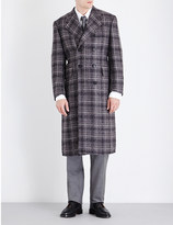 Thom Browne Double-breasted tweed-boucle coat