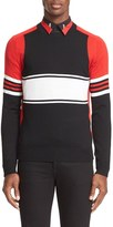 Givenchy Colorblock Stripe Wool Sweater