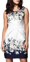 Yumi Rose Bouquet Skater Dress, Ivory