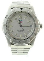 Tag Heuer WK1112 Stainless Steel with Silver Dial 39mm Mens Watch