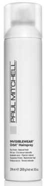 Paul Mitchell Invisiblewear Orbit Hairspray, 9.5-oz, from Purebeauty Salon & Spa