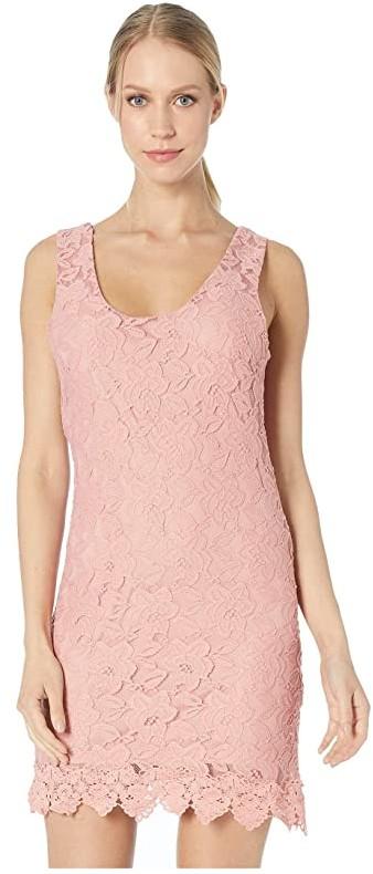 BB Dakota Grow with It Dress (Rosette Pink) Women's Dress