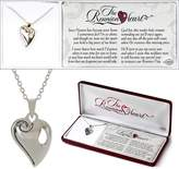 Cross Reunion Heart Necklace