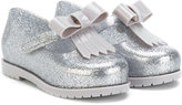 Mini Melissa bow detail ballerinas - kids - PVC/rubber - 23
