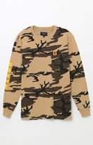 Brixton Fang Camouflage Long Sleeve T-Shirt