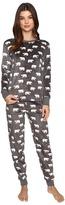 PJ Salvage Polar Bear Fleece PJ Set