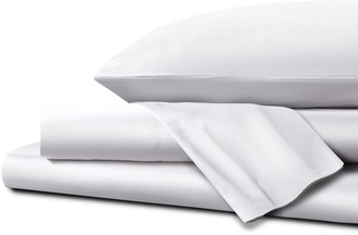 Homestead UK Single Ultra Soft Sateen Sheet Set - White