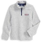 Vineyard Vines Toddler Boy's Shep Quarter Zip Knit Sweater