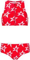 Perfect Moment - Star crewneck bikini - women - Polyamide/Spandex/Elastane - XS