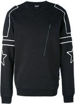 Just Cavalli contrast sweatshirt