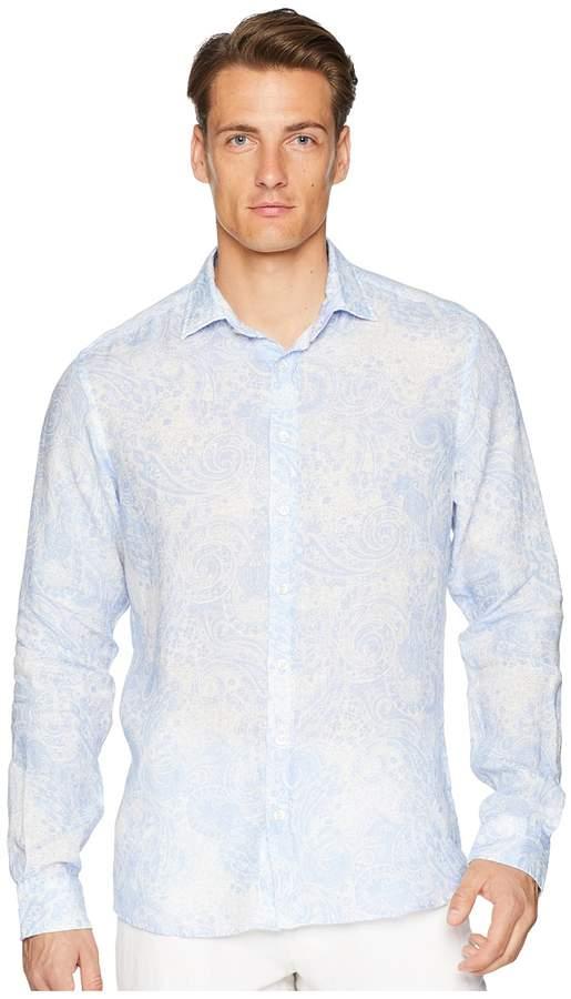 Etro Paisley Button Down Shirt Men's Long Sleeve Button Up