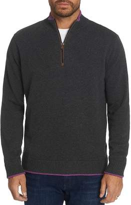 Robert Graham Selleck Quarter-Zip Classic Fit Sweater