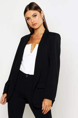 boohoo Shawl Collar Tailored Blazer