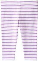 Joe Fresh Toddler Girls' Stripe Crop Pant, Light Neon Pink (Size 2)