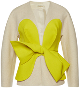 DELPOZO Jacket with Contrast Yoke