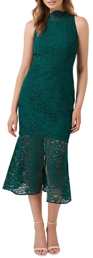Forever New Rikki Lace Fishtail Dress