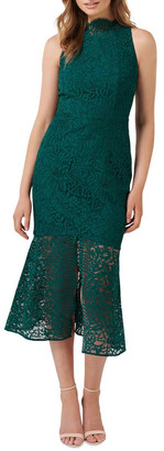 Forever New Rikki Lace Fishtail Dress