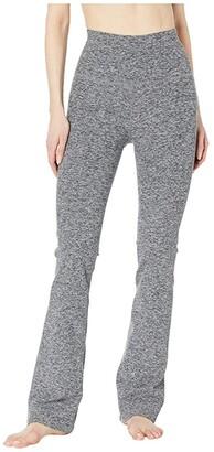 Beyond Yoga High Waisted Practice Pants (Black/White Spacedye) Women's Casual Pants