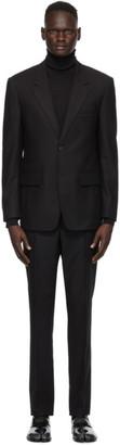 Maison Margiela Black Wool Suit
