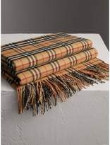 Burberry Vintage Check Cashmere Blanket