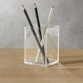 CB2 Acrylic Pencil Cup
