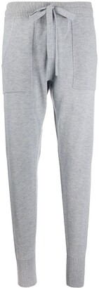 Eres Drawstring Tapered Joggers