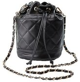 Charlotte Russe Quilted Bucket Bag