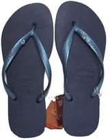 Havaianas Women Slim Crystal Glamour SW Flip Flops Slippers (37 BR/ 6.5-7.5B (M) US, )