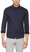 Merc of London Men's Lennox, L/s Small Paisley Print Casual Shirt,43
