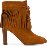See by Chloe fringed booties - women - Leather/Suede - 35