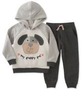 Kids Headquarters Little Boy's Two-Piece Puppy Pal Hoodie & Pants set
