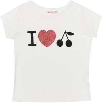 Bonpoint Printed cotton-jersey T-shirt