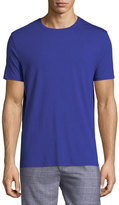 Derek Rose Basel 3 Crewneck Lounge T-Shirt, Blue